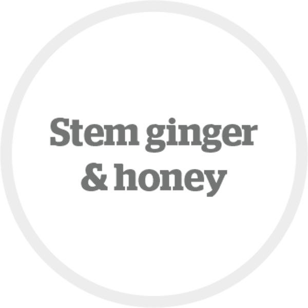 Stem ginger & honey